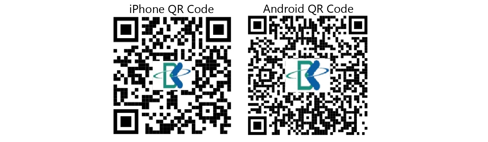 iPhone & Android QR Code